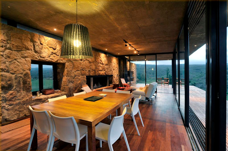 Country style dining room by LN-arquitectura Country
