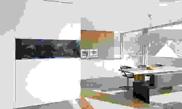 Haus am Hang Moderne Esszimmer von Diemer Architekten Part. mbB Modern