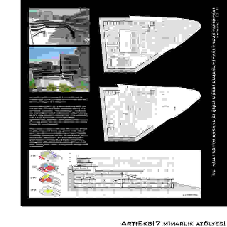 ArtıEksi7 Mimarlık Atölyesi – Şişli Lisesi Ulusal Mimari Proje Yarışması, 2011: modern tarz , Modern