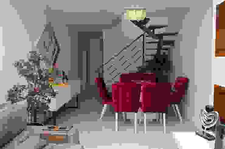 Cobertura Piratininga 2015 Salas de jantar modernas por Catharina Quadros Arquitetura e Interiores Moderno
