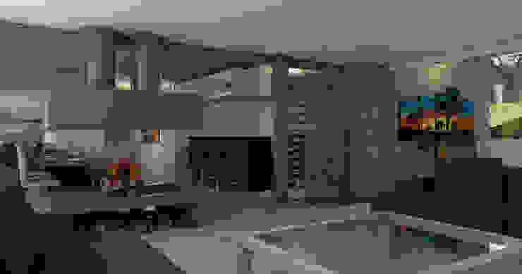 INTERIOR-LIVING Livings modernos: Ideas, imágenes y decoración de ARQUETERRA Moderno