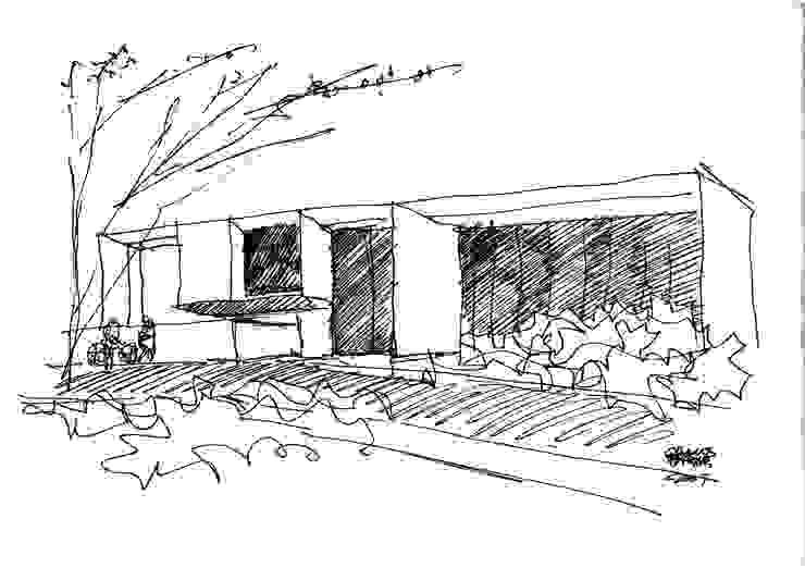 Croqui da Rua por Carlos Bratke Arquiteto
