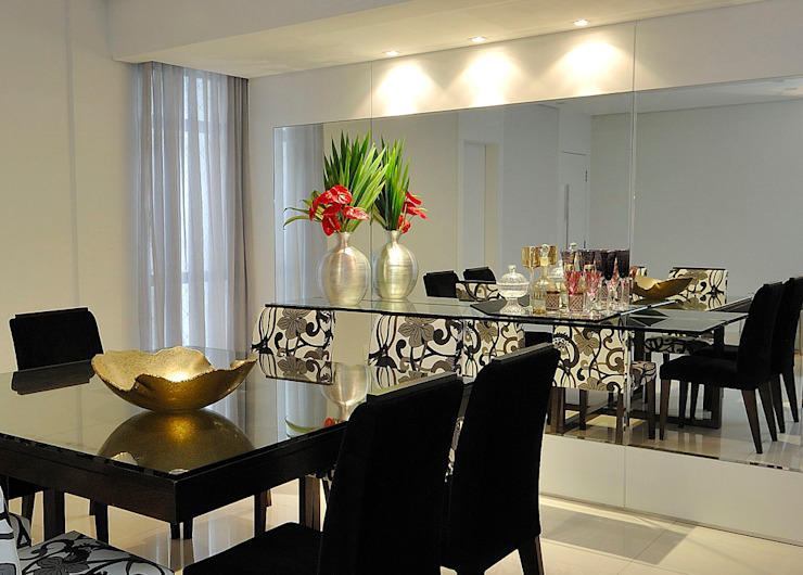 Aparador da Sala de Jantar Salas de jantar modernas por Gislene Soeiro Arquitetura e Interiores Moderno