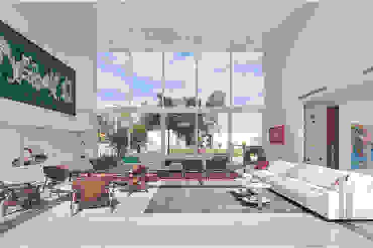 Sala de Estar por Carlos Bratke Arquiteto