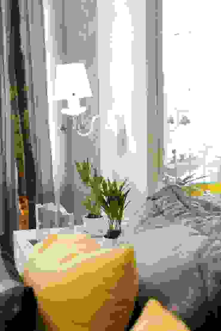 モダンスタイルの寝室 の Estúdio Pantarolli Miranda - Arquitetura, Design e Arte モダン