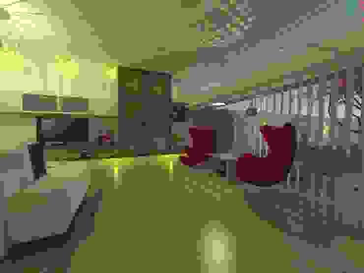área de espacimiento ER Design. @eugeriveraERdesign Salones de estilo moderno