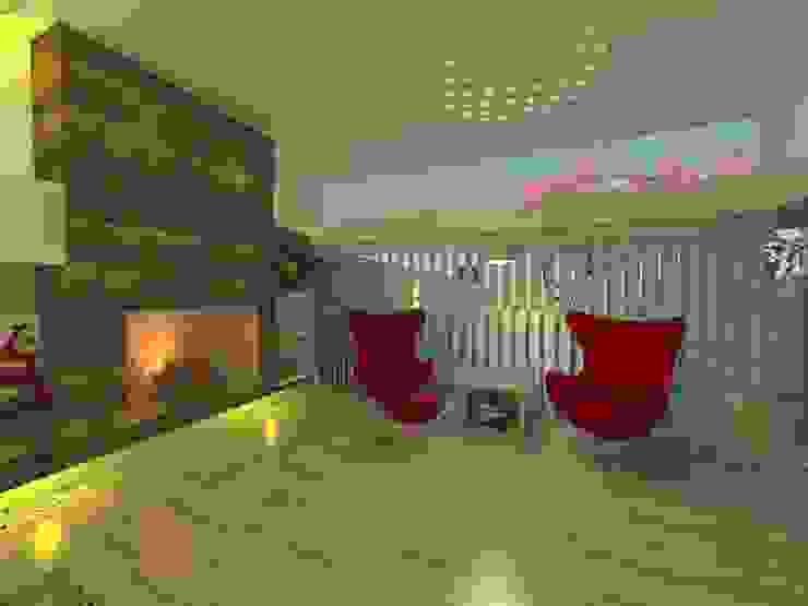 Modern living room by ER Design. @eugeriveraERdesign Modern