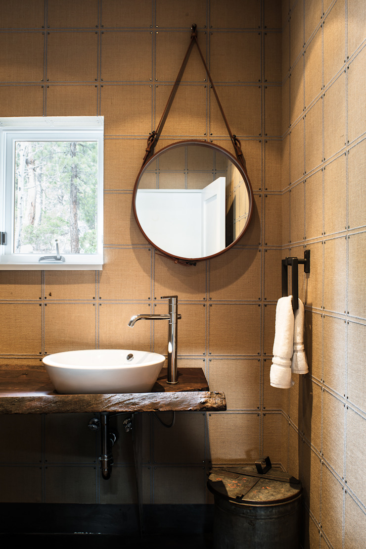 Truckee Residence Kamar Mandi Gaya Eklektik Oleh Antonio Martins Interior Design Inc Eklektik