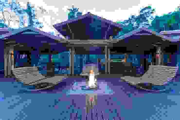Cristalino Lodge Hotéis modernos por KATIA KUWABARA | FOTOGRAFIA DE ARQUITETURA Moderno Madeira Efeito de madeira