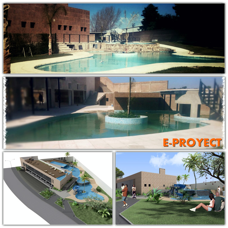 COMPLEJO de E-PROYECT Moderno