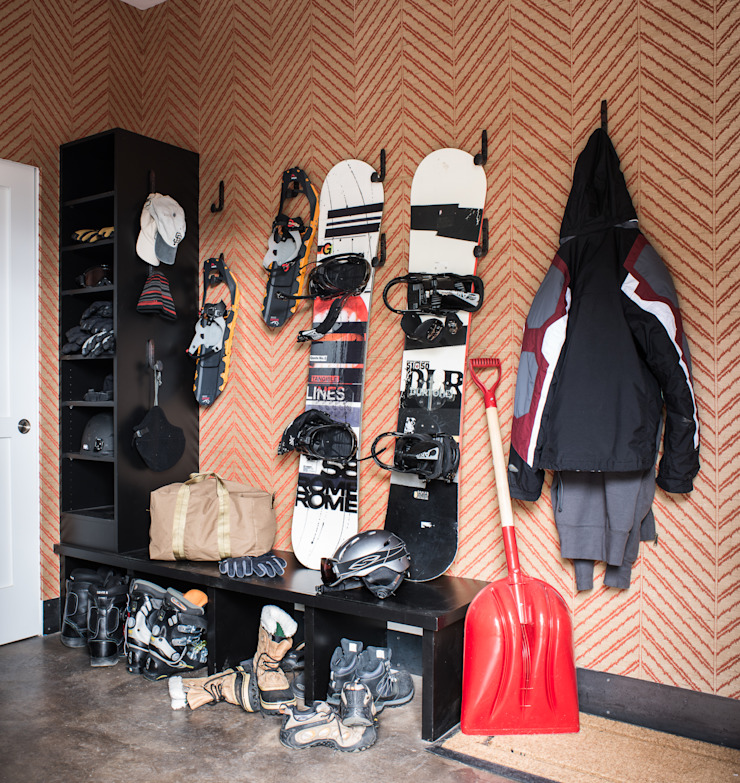 Truckee Residence Kamar Tidur Gaya Eklektik Oleh Antonio Martins Interior Design Inc Eklektik