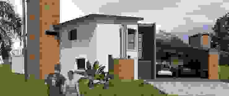 PROYECTO Y DIRECCIÓN TECNICA - VIVIENDA UNIFAMILIAR Casas modernas: Ideas, imágenes y decoración de E-PROYECT Moderno