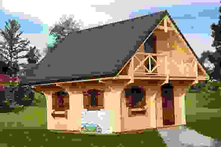 CasediLegnoSr Scandinavian style houses Wood Wood effect
