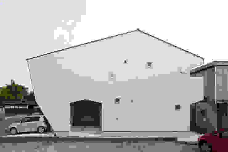 Projekty,  Domy zaprojektowane przez nano Architects, Nowoczesny Ceramiczny