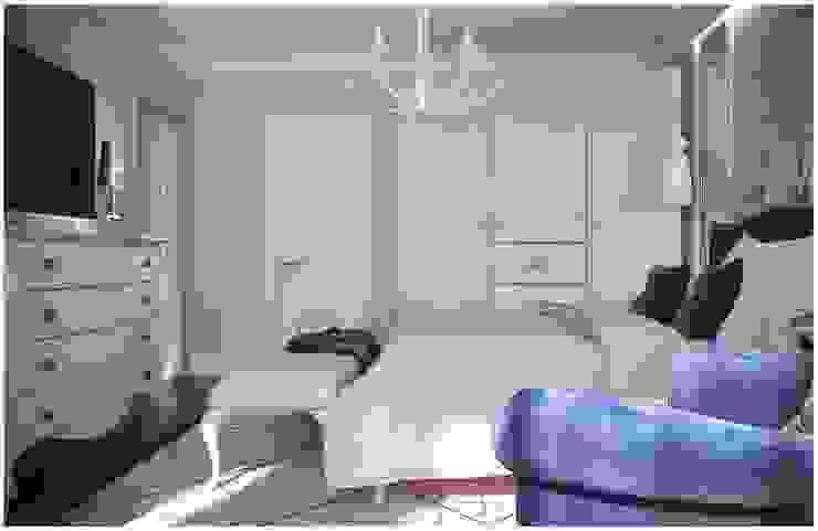 Bedrooms Спальня в стиле модерн от GM-interior Модерн
