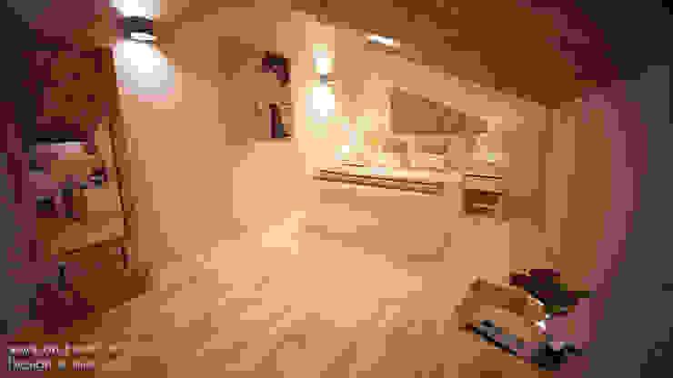 Modern style bedroom by Andreia Louraço - Designer de Interiores (Contacto: atelier.andreialouraco@gmail.com) Modern Wood Wood effect