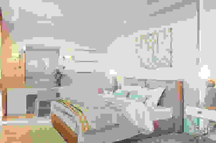 Dormitorios de estilo industrial de Студия авторского дизайна ASHE Home Industrial