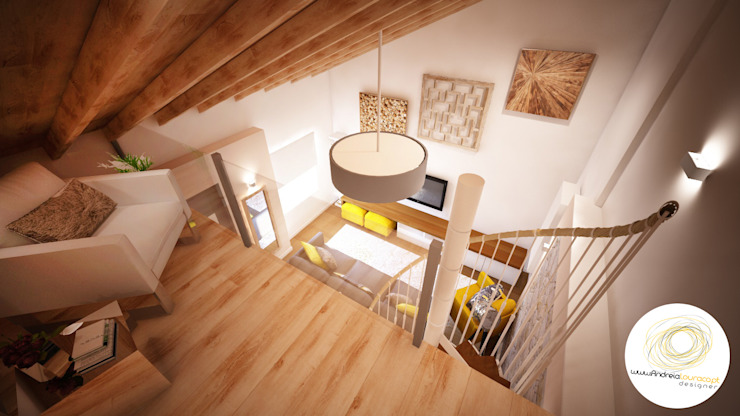 Andreia Louraço - Designer de Interiores (Email: andreialouraco@gmail.com) Modern style balcony, porch & terrace Glass Grey