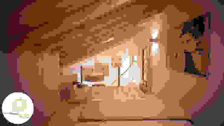 Andreia Louraço - Designer de Interiores (Email: andreialouraco@gmail.com) Modern style bedroom Wood Beige