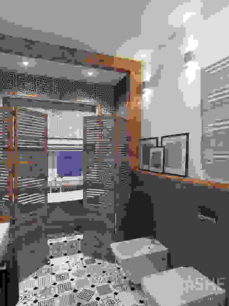 Лофт в Акбердино Ванная в стиле лофт от Студия авторского дизайна ASHE Home Лофт