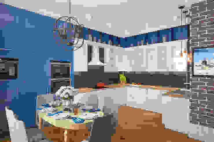 Квартира в ЖК Уфимский Кремль Кухни в эклектичном стиле от Студия авторского дизайна ASHE Home Эклектичный