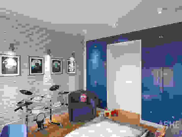 Квартира в ЖК Уфимский Кремль Детские комната в эклектичном стиле от Студия авторского дизайна ASHE Home Эклектичный