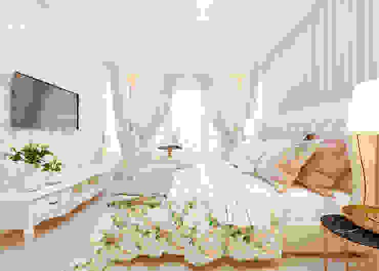 """Спальня """"Wood violet"""" vol.2 Спальня в классическом стиле от Студия дизайна Дарьи Одарюк Классический"""