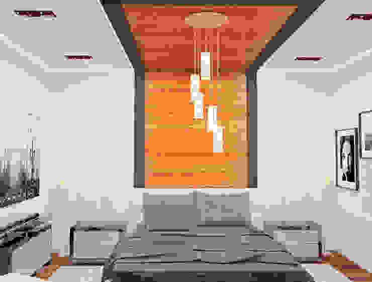 Спальня Спальня в стиле минимализм от DONJON Минимализм