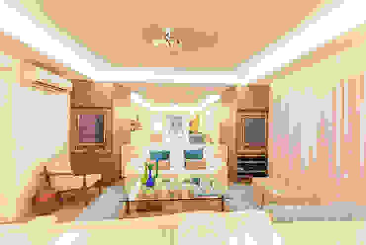 Enzo Sobocinski Arquitetura & Interiores Modern style bedroom Engineered Wood Turquoise