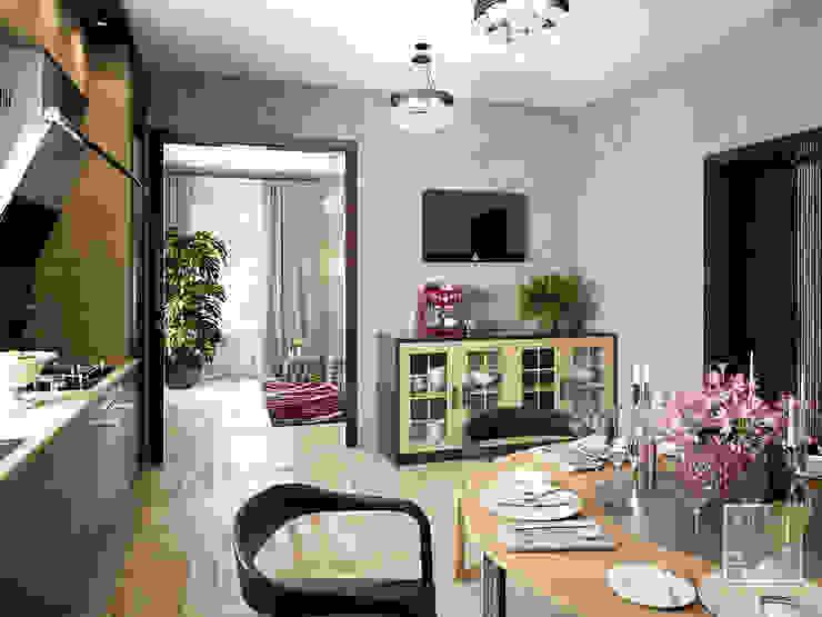 Кухня-гостиная (г. Харьков) Кухня в стиле лофт от Елена Марченко (Киев) Лофт