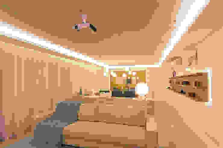 Salas de Estar e Jantar Salas de estar modernas por Enzo Sobocinski Arquitetura & Interiores Moderno Cerâmica