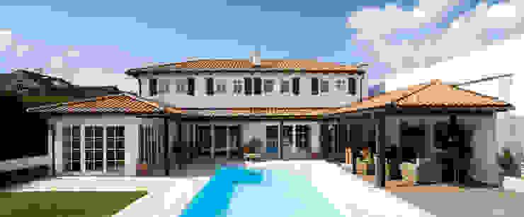 Einfamilienhaus in Perchtoldsdorf bei Wien Mediterrane Häuser von WUNSCHHAUS Mediterran