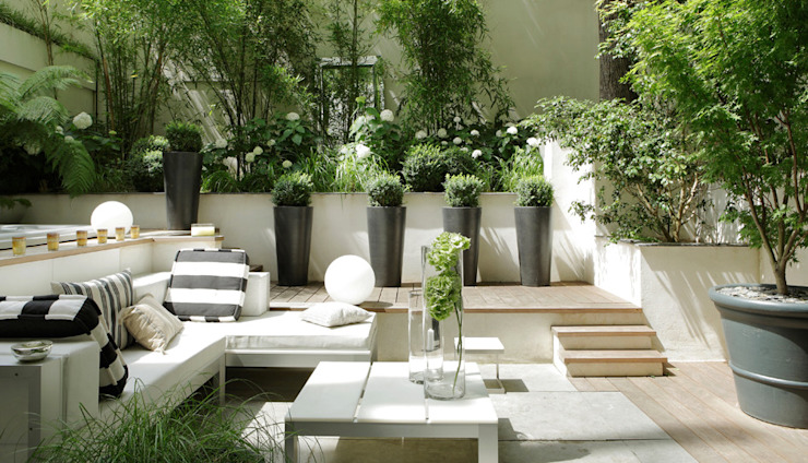 Terrasse de style  par Ecologic City Garden - Paul Marie Creation,