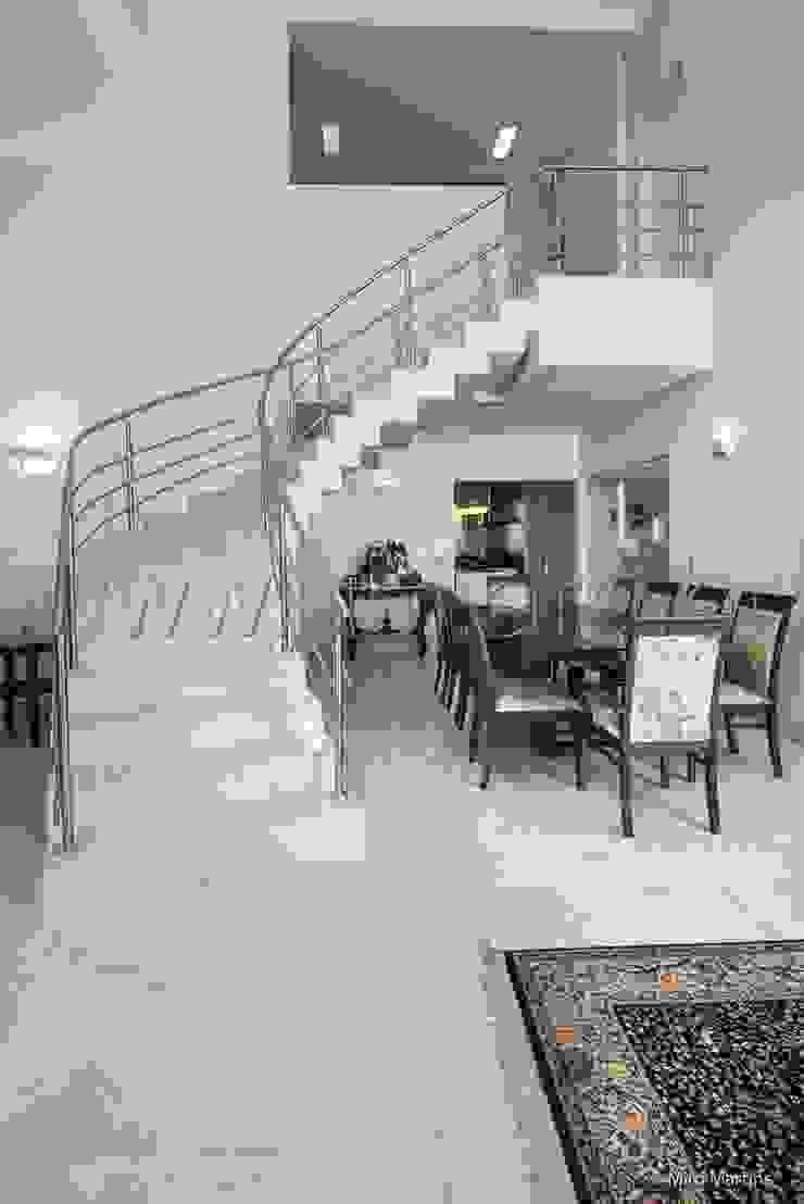 PROJETO RESIDENCIAL ESTÂNCIA EUDÓXIA Salas de jantar modernas por aei arquitetura e interiores Moderno