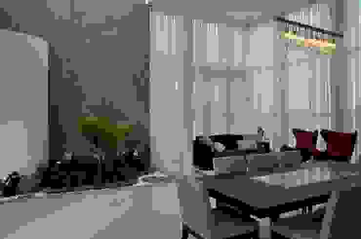 Libório Gândara Ateliê de Arquitetura Modern conservatory