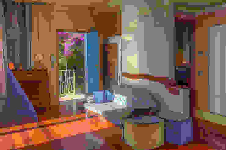 Salas de estilo rústico de Emilio Rescigno - Fotografia Immobiliare Rústico