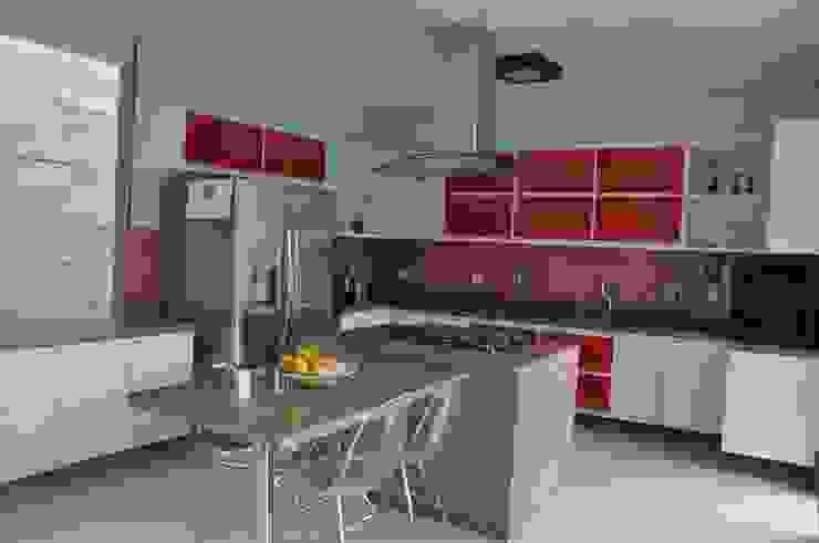 Libório Gândara Ateliê de Arquitetura Cocinas de estilo moderno