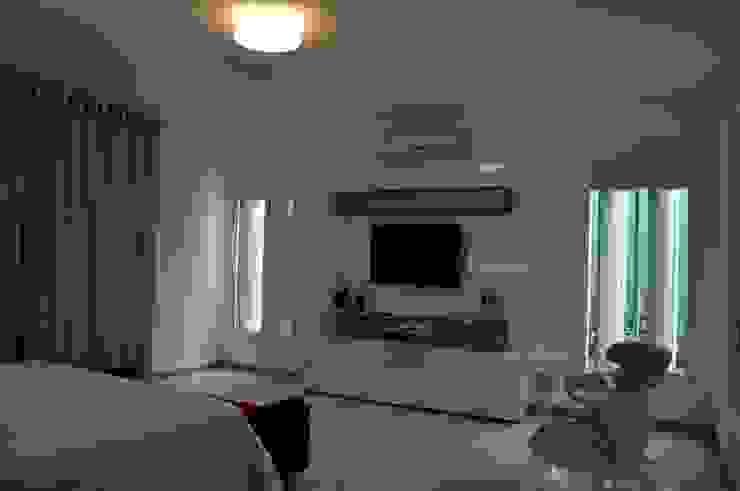 Libório Gândara Ateliê de Arquitetura Modern style bedroom
