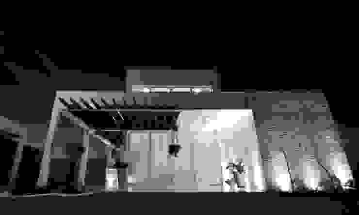 Fachada Principal Casas modernas por Libório Gândara Ateliê de Arquitetura Moderno