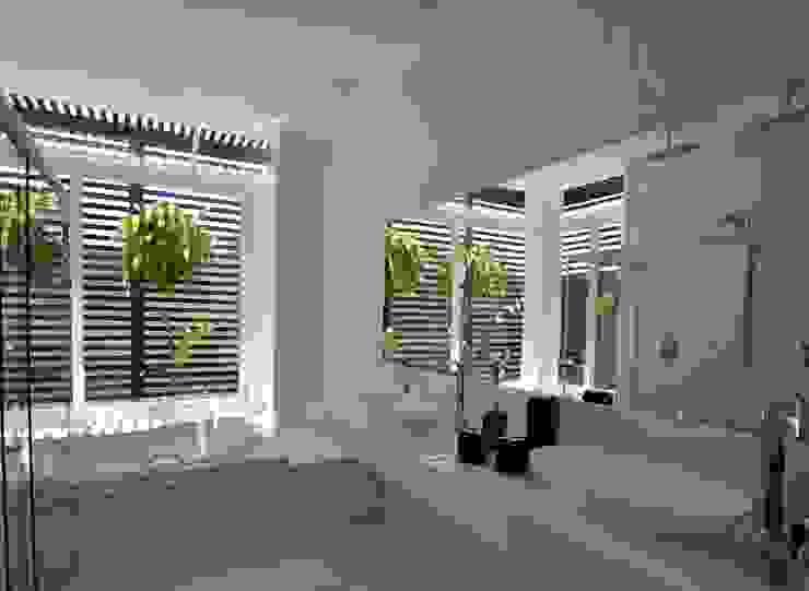 Libório Gândara Ateliê de Arquitetura Modern Bathroom