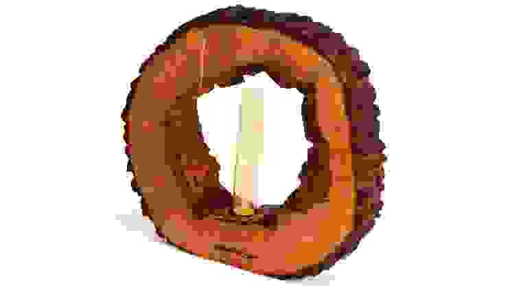 LAMPA MARSH Z DZIURKĄ od Altavola Design Sp. z o.o. Rustykalny Drewno O efekcie drewna
