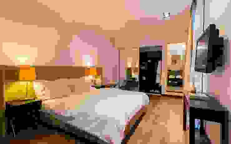 Hotel Azur – Reforma y nuevas habitaciones Hoteles de estilo moderno de CAPÓ estudio Moderno
