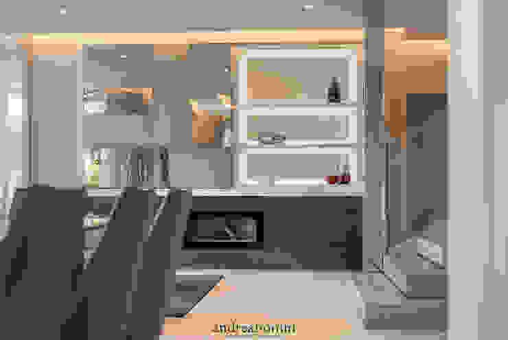 Villa on lake Garda Soggiorno moderno di Andrea Bonini luxury interior & design studio Moderno