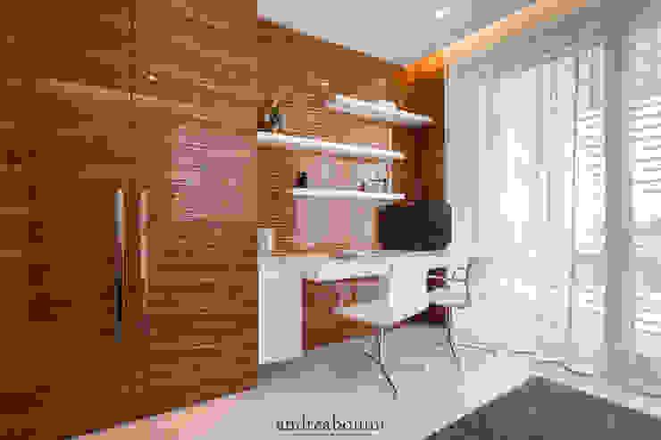 Ruang Media Modern Oleh Andrea Bonini luxury interior & design studio Modern