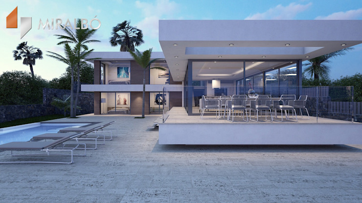 Villa Rhoda Miralbo Excellence Maisons modernes