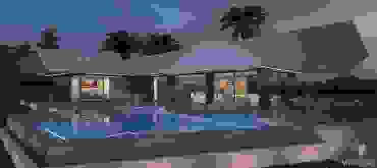 Casas estilo moderno: ideas, arquitectura e imágenes de Miralbó Excellence Moderno