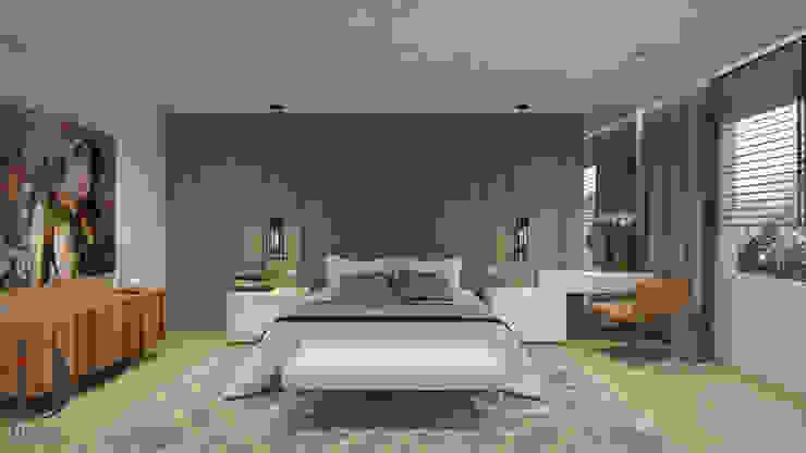 Modern style bedroom by Disak Studio Modern