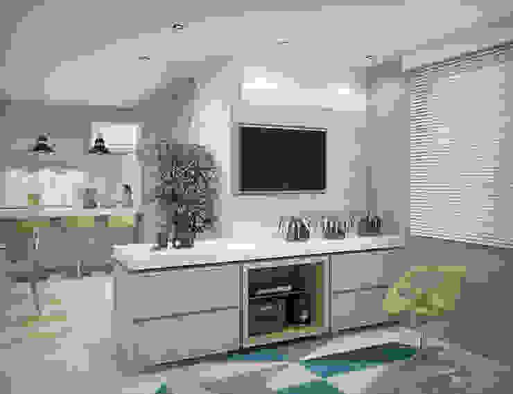 Apartamento #101 Salas de estar modernas por studio vtx Moderno