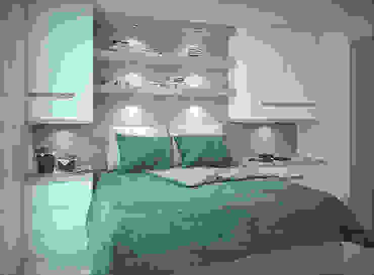 Apartamento #101 Quartos modernos por studio vtx Moderno