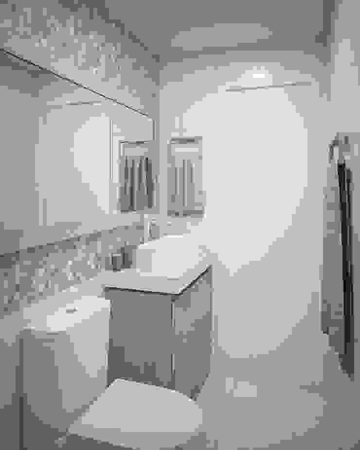 Apartamento #101 Banheiros modernos por studio vtx Moderno
